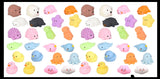 Cute Animal Mochi Squishy Animals - Kawaii -  Cute Individually Wrapped Toys - Sensory, Stress, Fidget Party Favor Toy