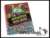 Monster Color Activity Pad - Travel Activity - Busy Bag Games