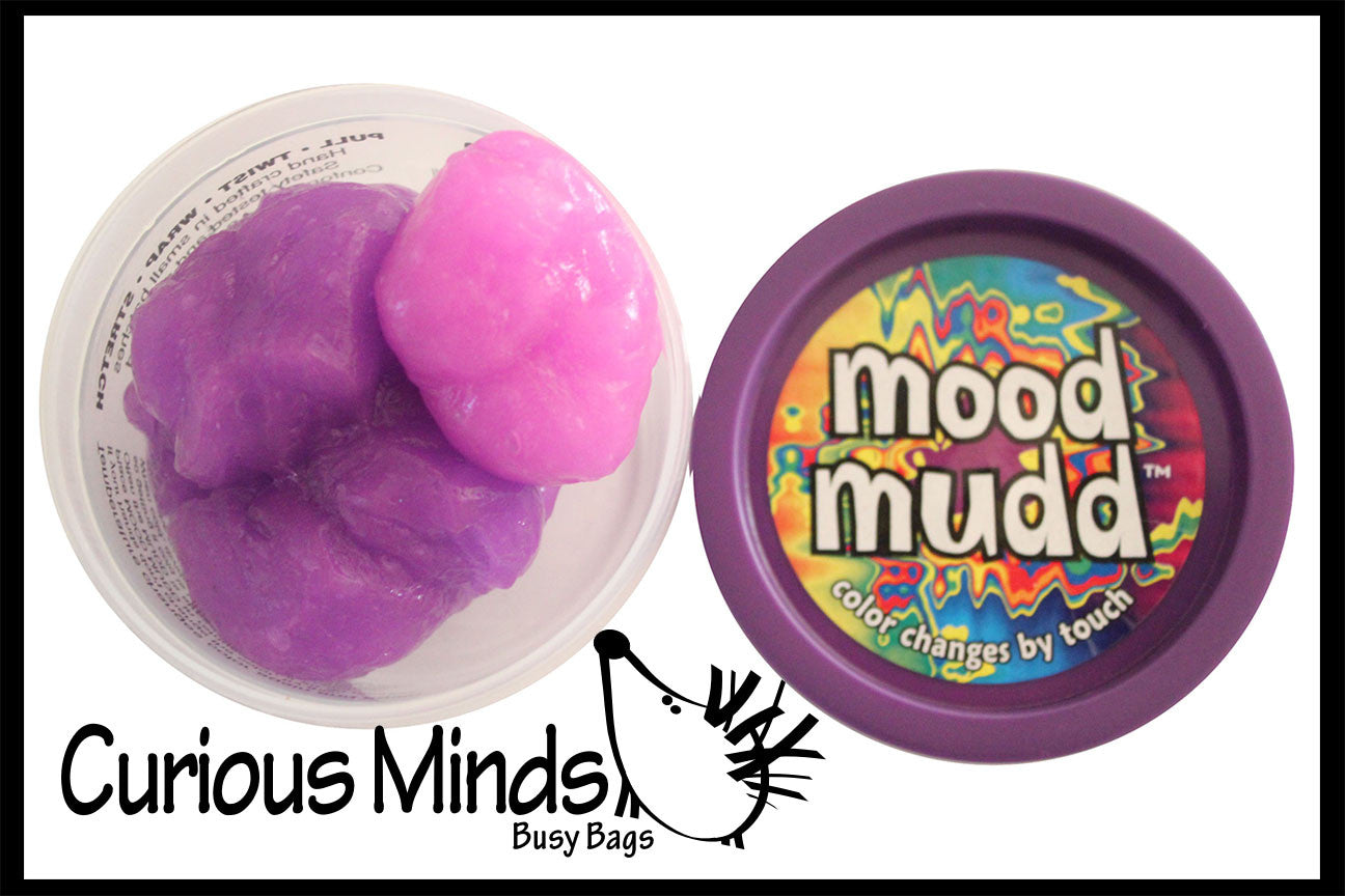 Mood Mudd - Color Changing Heat Sensitive Putty / Slime