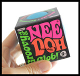 Nee-Doh Soft Doh Filled Stretch Ball - Ultra Squishy and Moldable Relaxing Sensory Fidget Stress Toy