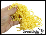 Cup of Stretchy Ramen Noodle Strings Fidget Toy - Not Sticky, Pull, Stretchy, Fiddle, Separate, Slime with Mixins