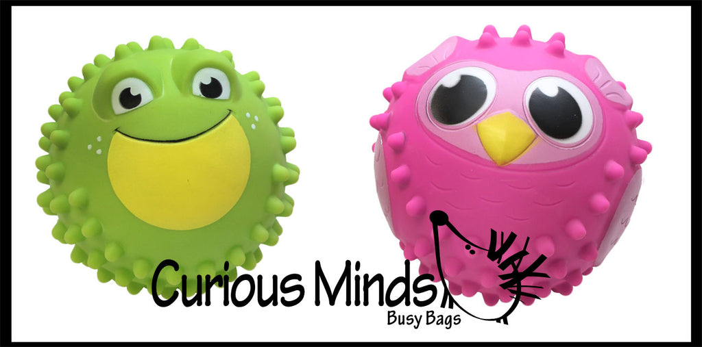 "5"" Knobby Bumpy Ball Sensory Toy"