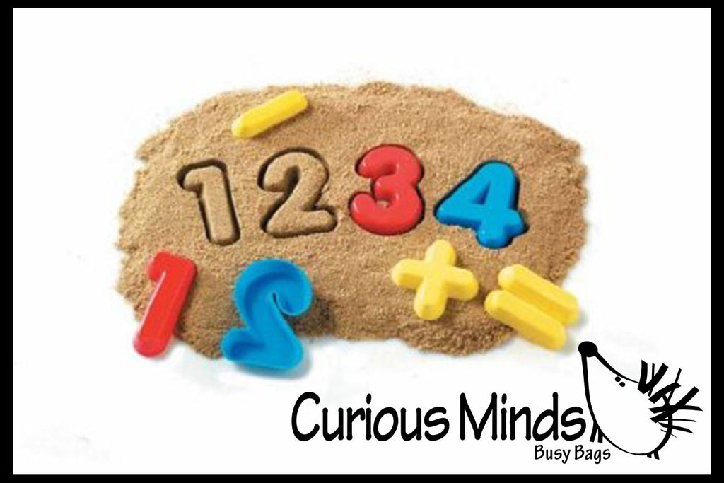 Number and Operator Educational Sand Molds for Kids
