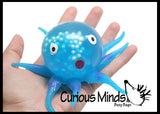 Squishy Gel Octopus Sensory Fidget Toy