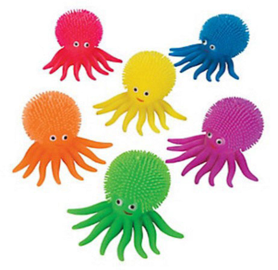 Puffer Octopus Ball - Squishy Sensory Fidget Ball