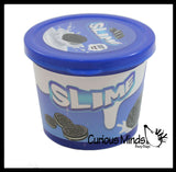CLEARANCE - SALE - Cookies & Cream Slime -  Stretchy, Gooey, Drippy Slime with Cookie Mix-Ins - Putty - Goo