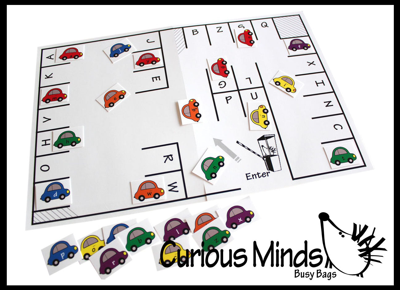 PDF File - Parking the Alphabet Game