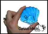 Oyster Slime with Pearl - Fun Ocean or Mermaid Theme / Putty/Goo