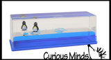 Penguins on a Wave - Moving Water -  Sensory, Stress, Fidget Toy