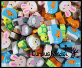 144 (12 Dozen) Adorable Pet Mini Erasers - Novelty and Functional Adorable Eraser Novelty Treasure Prize, School Classroom Supply, Math Counters - Sorting - Party Favor