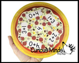Addition Pizza Puzzle - Early Math - Early Childhood Teacher Supply