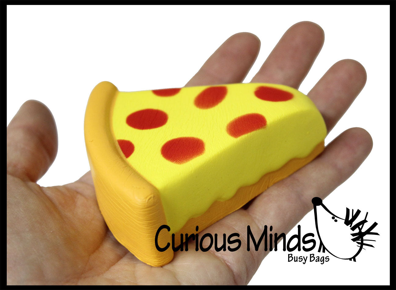 CLEARANCE - SALE - Pizza Slice Squishy Slow Rise -  Sensory, Stress, Fidget Toy