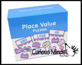 Number Place Values Puzzle - Early Childhood Teacher Supply