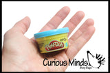 Tiny Play Doh Modeling Compound -  mold-able putty/dough/slime