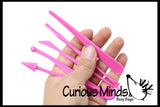 Mini Sand Castle Molds - Sand Sculpting Tool Set - Play Doh - Moving Sand