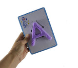 Playfoam Alphabet Learning Set - Learn Uppercase & Lowercase Letter Formation with Doh