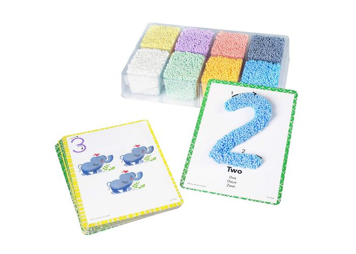 Playfoam Number & Shapes Learning Set - Learn Numbers and Shapes with Doh