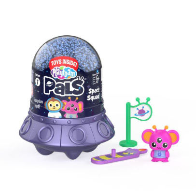 Playfoam Pals - SPACE SQUAD - No mess modeling compound that doesn't dry out - Surprise Toy Party Favor
