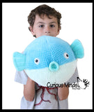 Jumbo Pufferfish Plush Stuffed Animals- Adorable P is for Puffer Fish Toy