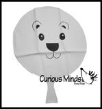 Polar Bear Whoopie Cushion - Cute Winter Party Favors Novelty Toy
