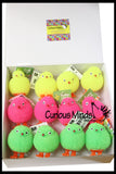 Light-Up Puffer Chicks - Easter