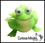 Large Puffer Frog Ball - Squishy Sensory Fidget Ball Toy