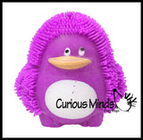 Large Puffer Penguin Ball - Squishy Sensory Fidget Ball Toy
