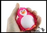Mini Puffer Penguin Ball - Squishy Sensory Fidget Ball Toy