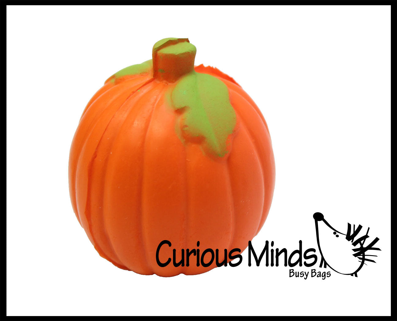 Pumpkin Stress Ball  -  Sensory, Stress, Fidget Toy
