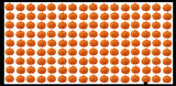 Jack-O-Lantern Pumpkin Pencil Top Erasers - Trick or Treat Party Favors - Halloween