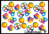 Colorful Puzzle Ball Games - Problem-Solving Brain Teaser Logic Maze Toys - Party Favors - Travel Toy - Ball Maze - Puzzle Game Fidget