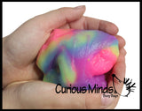 Glow Dough Slime - Colorful Glow In the Dark Putty / Slime