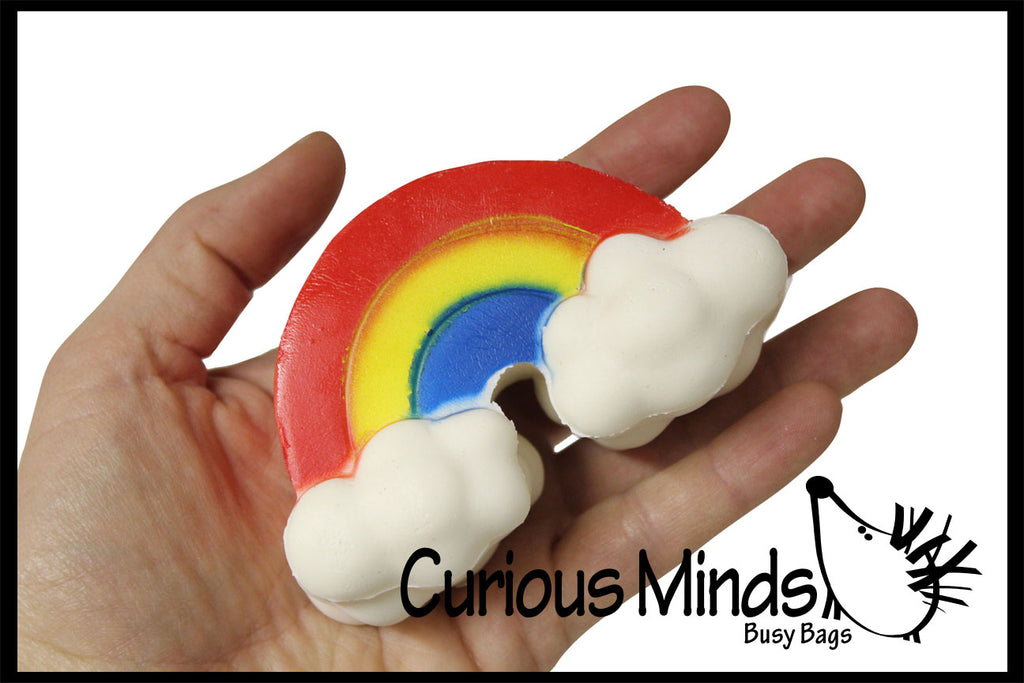 CLEARANCE - SALE - Rainbow Squishy Slow Rise -  Sensory, Stress, Fidget Toy