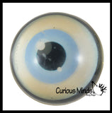 Realistic Human Eye Super Bouncy Balls - Eyeball Novelty Party Favor Toy Ophthalmologist, Optometry Anatomy
