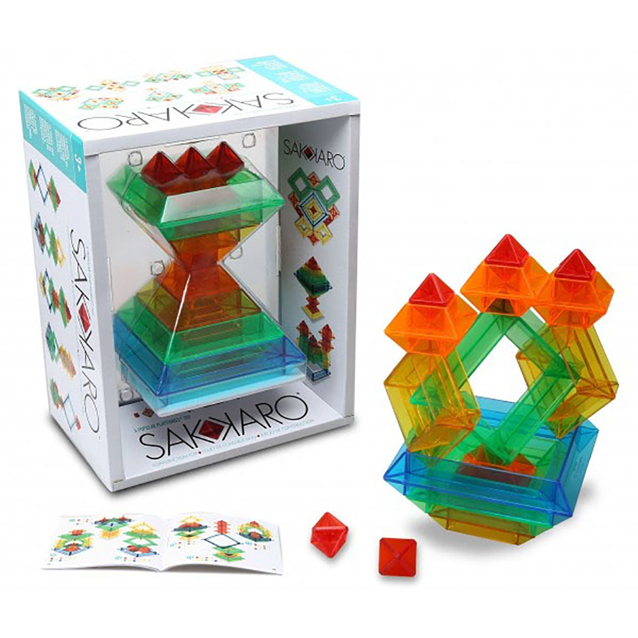 Sakkaro Building Stacking Toy with Over 100 Patterns