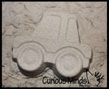 Vehicle and Animal Sand Mold Set - Beach Sandbox Toy