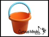 Sand Bucket - Durable Plastic Beach Bucket
