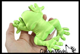 Frog Sand Filled Animal Toy - Heavy Weighted Sandbag Animal Plush Bean Bag Toss - Shimmering Glitter Gecko