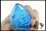 Jumbo Shark Water Bead Filled Squeeze Stress Ball  -  Sensory, Stress, Fidget Toy