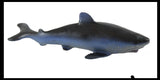 Blue Shark Stretchy and Squeezy Toy - Crunchy Bead Filled - Fidget Stress Ball