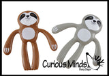 Sloth Bendable -  Bendy Figurine Sensory, Fidget Toy