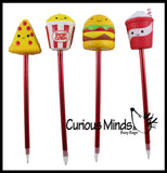 Slow Rise Fast Food Pen - Soft Scented Cute Pens - Office School