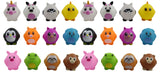 Cute Small Egg Animal Figurines - Small Novelty Toy Prize Assortment Egg Hunt