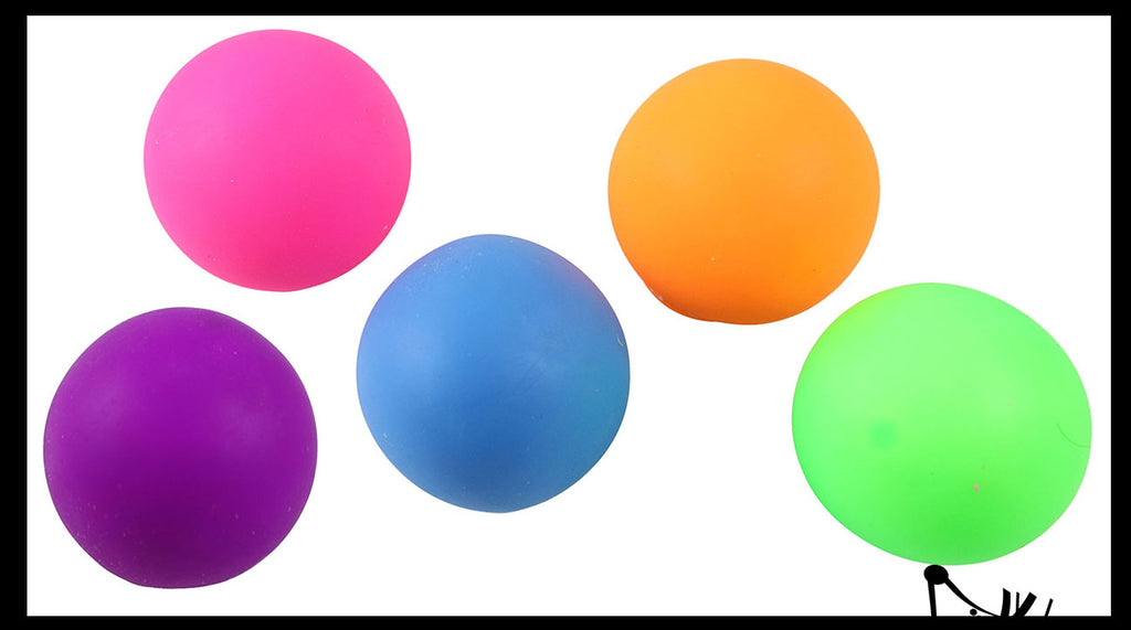 "2.25"" Stretchy Squishy Squeeze Stress Ball - Sensory, Fidget Toy"