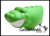 Big Smiles Happy Squishy Slow Rise Foam Animals -  Scented Sensory, Stress, Fidget Toy - Teeth Dentist Prize