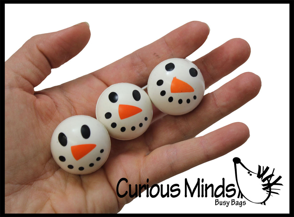 Snowman Bouncy Ball  - Toy Indoor