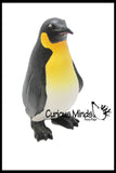 Large Soft Touch Penguin Figurine -