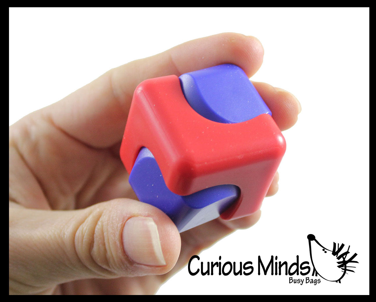 Fidget Spinner Cube Toy - Spinning Hand Fidget - Anxiety ADHD