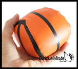 Large Soft Stuffed Sports Balls - Sport Team Athletic Youth Players - Cute Party Favors or Classroom Rewards Football, Soccer, Baseball, Basketball