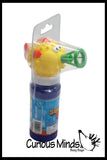 Squeeze Bubble Blower - Dip and Squeeze - No Blowing Needed!